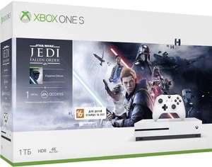 [Сибирь] Microsoft Xbox One S 1Tb White + игра Star Wars + 1M EA Access