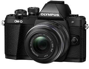 [Сибирь] Olympus OM-D E-M10 Mark II Kit 14-42 II R, Black 16Mp