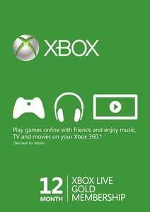 Xbox Live Gold на 12 месяцев (активируется через VPN Бразилии)