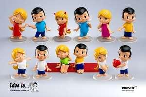 Фигурки Love Is от Prosto Toys