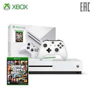 Xbox One S 1TB + GTA5 (с дисководом)