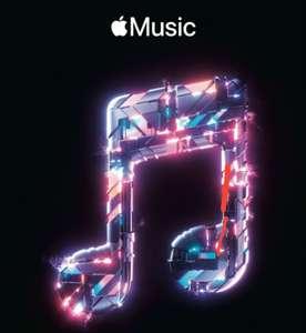 4 месяца Apple Music для новых пользователей +1 мес. для старых
