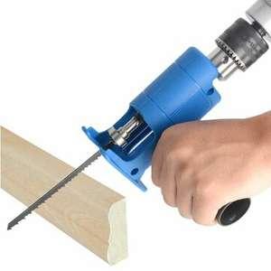 Насадка Drillpro на дрель или шуруповерт для получения пилы (лобзика)