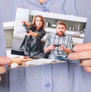 Печать 30 фото в подарок от Tele2