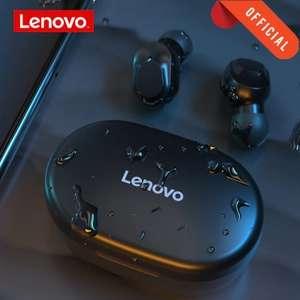 Беспроводные наушники Lenovo QT81 type-c c цифровым уровнем батареи