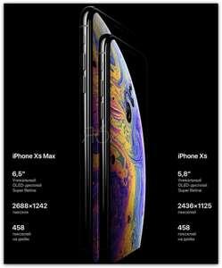 Смартфон iPhone XS и iPhone XS Max восстановленые