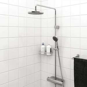 Комплект для душа и термостатический смеситель IKEA Брогрунд
