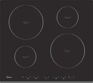 [не везде] Индукционная варочная панель Midea MIH64416F