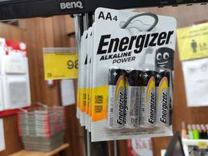 Батарейки Energizer 4шт AA и AAA