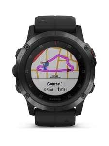 Смарт-часы Garmin Fenix 5X Plus Sapphire Factory Refurbished