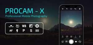 Приложение ProCam X (HD Camera Pro)