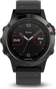 Умные часы Garmin Fenix 5 Sapphire, восстановленные (из США, нет прямой доставки)