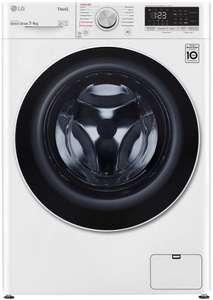 Узкая стиральная машина с сушкой LG F2V5HG0W