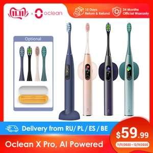 Электрическая зубная щетка Oclean X Pro