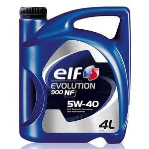 Моторное масло ELF Evolution 900 NF 5W-40 Синтетическое 4 л
