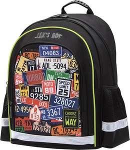 Школьный рюкзак Berlingo inStyle+ Your Way, черный, 39х29х20 см