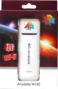 USB-модем ANYDATA W150 Wi-Fi 4G / Роутер ANYDATA мобильный R150 4G