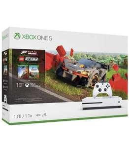 Xbox One S 1TB + Forza Horizon 4 + расширение LEGO Speed Champions(DLC)