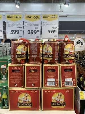 [СПб] Пиво Пражечка, 5 литров