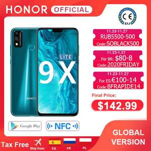 Распродажа смартфонов и часов Honor ( к примеру honor 9x lite, honor watch GSPro и watch ES)