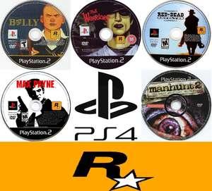 [PS4] Набор классических игр Rockstar Games с PS2™