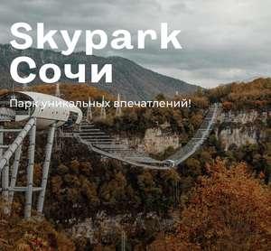 Билет в Сочи Skypark (при покупке двух)