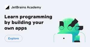 Обучение программированию в JetBrains Academy (3мес вместо 7дн пробного периода)