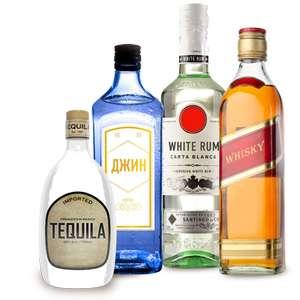 Скидка 30% на виски, ром и текилу в Ленте 19 декабря