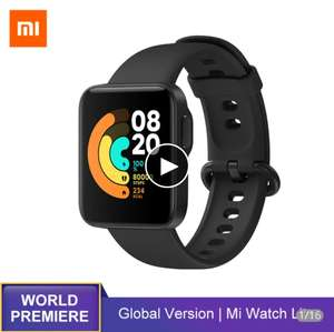 Смарт-часы Xiaomi Mi Watch Lite GPS, GLONASS, Bluetooth 5, водостойкие до 5 атм