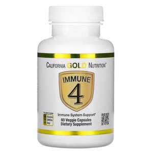 Средство для укрепления иммунитета Immune 4, California Gold Nutrition 60 шт. (1 заказ на аккаунт)
