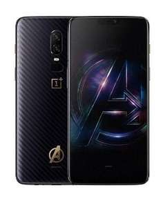 Смартфон OnePlus 6 6/64Gb Marvel Avengers Limited Edition (MidnightBlack)