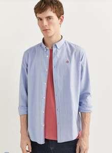 Рубашка Springfield из ткани оксфорд