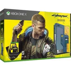 [Красноярск] Игровая приставка Microsoft Xbox One X 1Tb Cyberpunk 2077 + 1M Game Pass Ultimate Trial