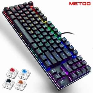 Проводная механическая клавиатура Metoo Z56 (свитчи JIXIAN)