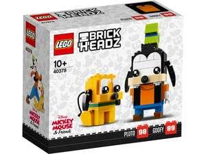Фигурки LEGO BrickHeadz Гуфи и Плуто