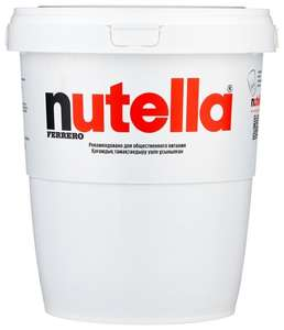 Шоколадная паста Nutella, 3 кг (1155 ₽ при покупке 2 шт. с учетом бонуса и промокода)