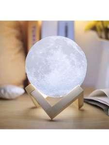Ночник Луна с пультом управления 15 см