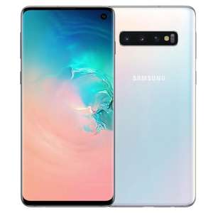 Смартфон Samsung Galaxy S10 8/128GB, Перламутр