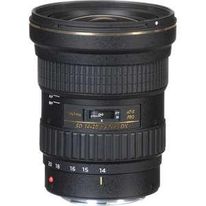 Объектив TOKINA AT-X 14-20mm f/2 PRO для кропнутых зеркалок CANON, нет прямой доставки