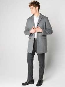 Мужское пальто MEXX (рр 50-56), серый цвет, 50% шерсти