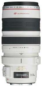 Объектив Canon EF 28-300mm f/3.5-5.6L IS USM белый