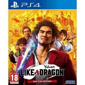 [PS4] Игра Sega Yakuza: Like a Dragon. Day Ichi Edition