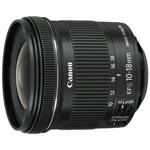Объектив Canon EF-S 10-18mm f/4.5-5.6 IS STM (В наличии не везде, проверяйте свой город).