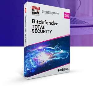 Антивирус Bitdefender Total Security 2021 на 6 месяцев