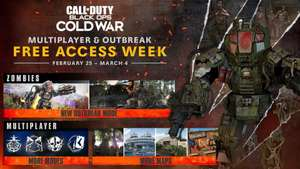 [PS4, Xbox, PC] Бесплатная неделя в мультиплеер и зомби-режиме CoD: Black Ops Cold War + компания на Xbox без интернета