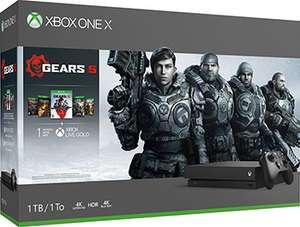 [Краснодар] Игровая приставка Microsoft Xbox One X (с играми Gears 5 Ultimate-издание Gears of War Gears of War 2, 3 и 4)