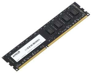 Оперативная память DDR3, 4 GB, 1600 MHz, CL 11, 1.5 В, AMD R534G1601U1S-UO