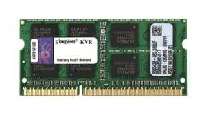 Оперативная память Kingston ValueRAM DDR3 1600 (PC 12800) SODIMM 204 pin, 8 GB 1 шт. 1.5 В В, CL 11, KVR16S11/8