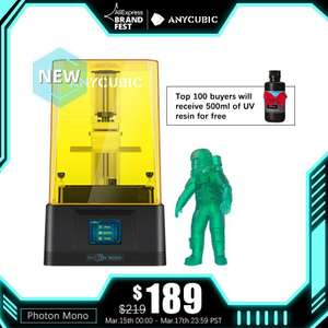Фотополимерный 3D принтер Anycubic Photon Mono