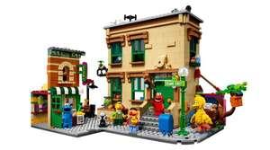 Констурктор Lego 21324, Улица Сезам, 123